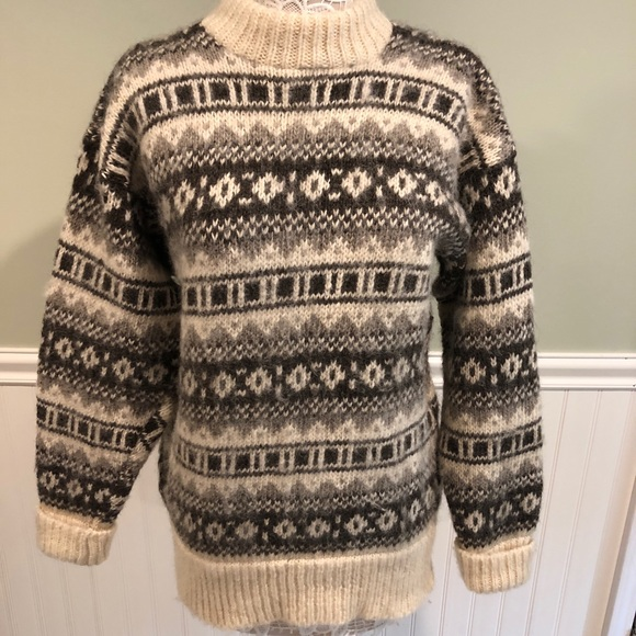 Vintage Danish Wool Sweater by Scandia